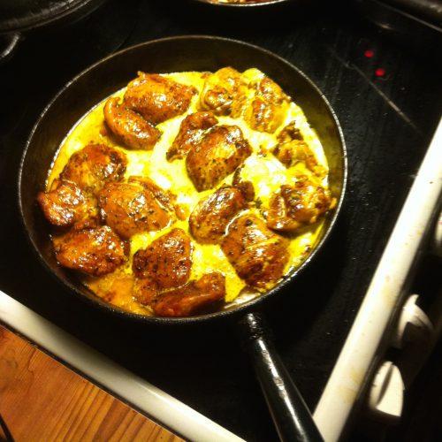 marockansk kyckling